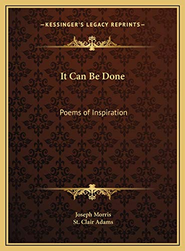 9781169751620: It Can Be Done: Poems of Inspiration