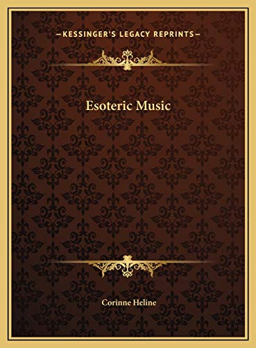 9781169755703: Esoteric Music