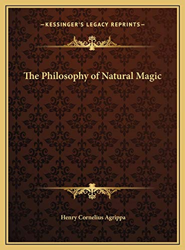9781169762435: The Philosophy of Natural Magic