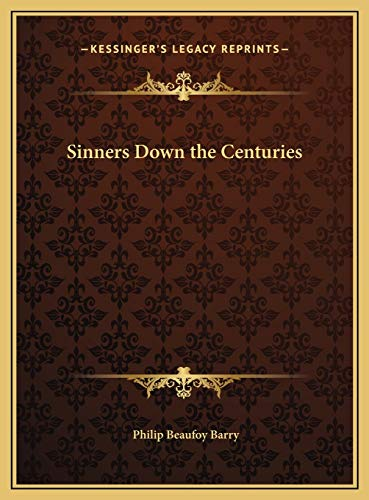 9781169763029: Sinners Down the Centuries