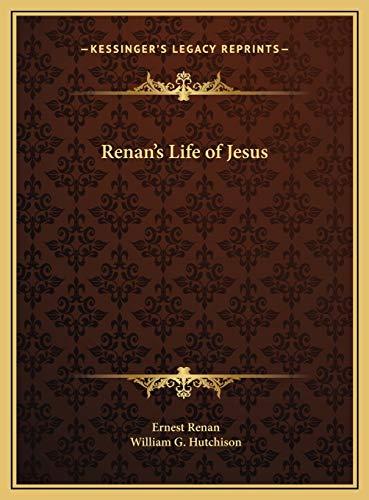 9781169765979: Renan's Life of Jesus