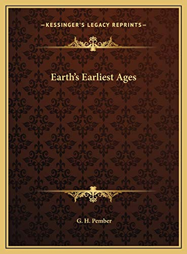 9781169768451: Earth's Earliest Ages