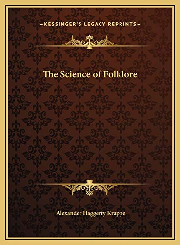 9781169774230: The Science of Folklore