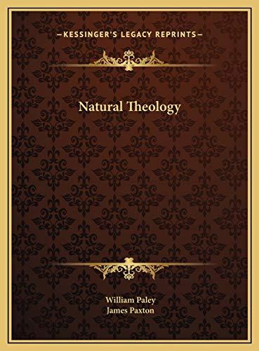 9781169780002: Natural Theology