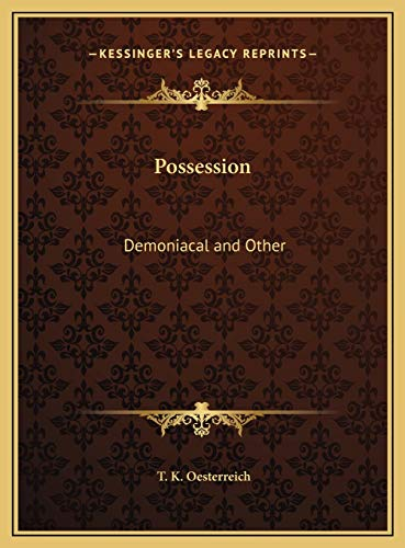9781169783928: Possession: Demoniacal and Other