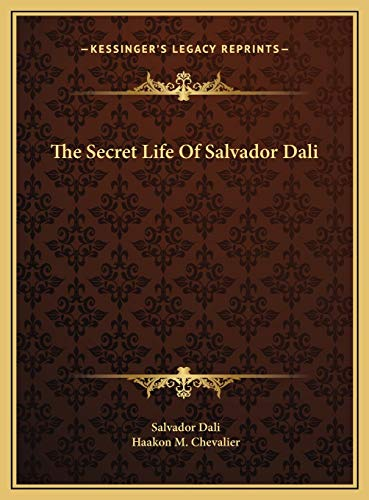 9781169788893: The Secret Life Of Salvador Dali