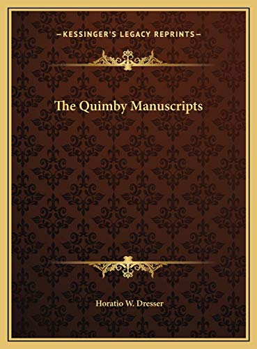 9781169790803: The Quimby Manuscripts