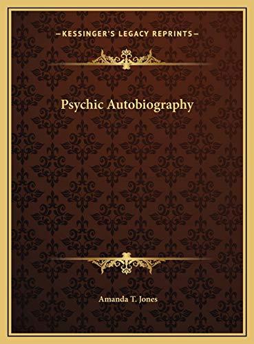 9781169794856: Psychic Autobiography