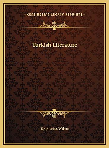 9781169798656: Turkish Literature