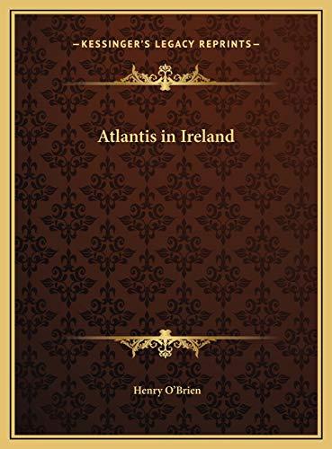 9781169805941: Atlantis in Ireland