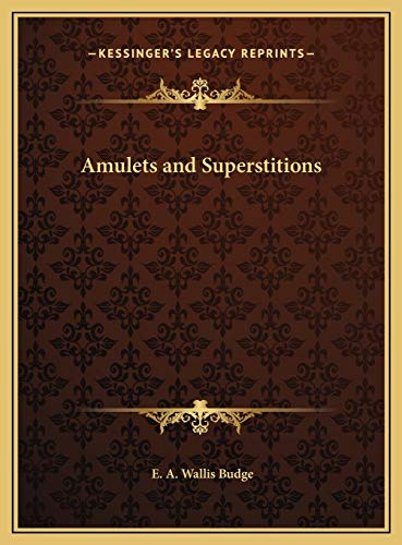 9781169812291: Amulets and Superstitions