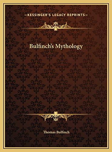 9781169813779: Bulfinch's Mythology