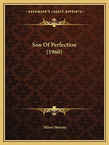 9781169829510: Son Of Perfection (1960)