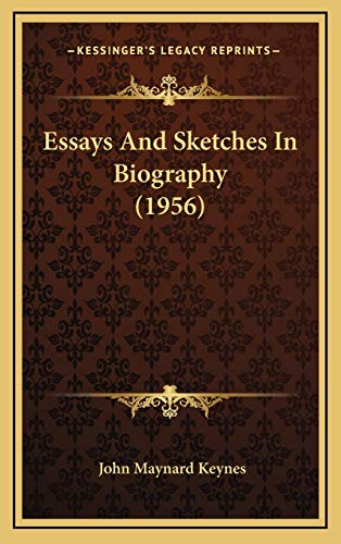 9781169831919: Essays And Sketches In Biography (1956)