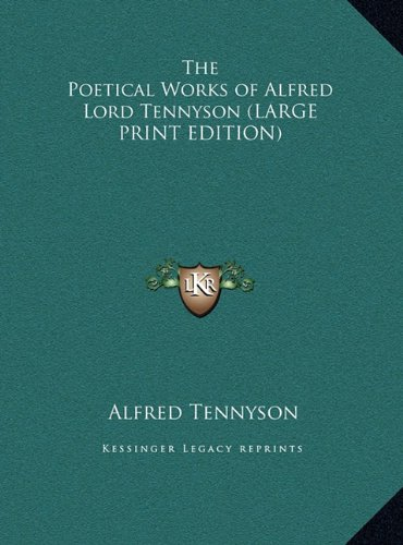 9781169834415: The Poetical Works of Alfred Lord Tennyson
