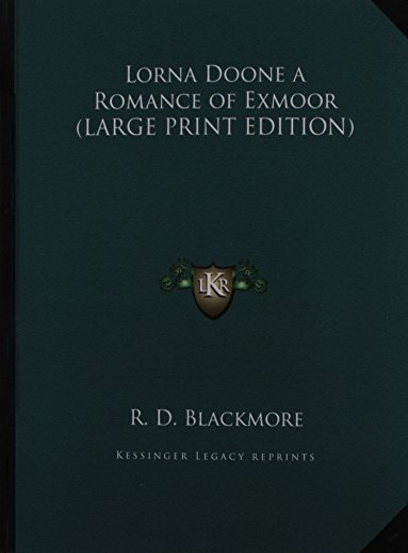 9781169841970: Lorna Doone a Romance of Exmoor