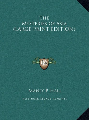 9781169854277: The Mysteries of Asia (LARGE PRINT EDITION)