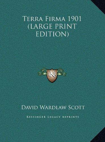 9781169855434: Terra Firma 1901 (LARGE PRINT EDITION)