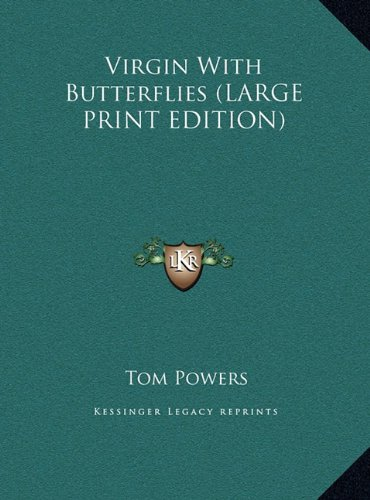 9781169870703: Virgin With Butterflies (LARGE PRINT EDITION)