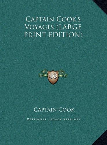 9781169916548: Captain Cook's Voyages (LARGE PRINT EDITION)