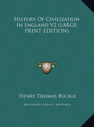 9781169918382: History of Civilization in England V2