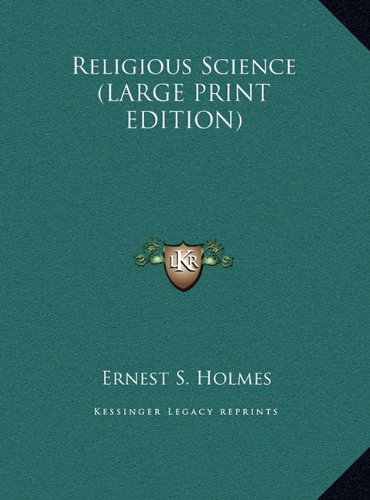 9781169938137: Religious Science (LARGE PRINT EDITION)