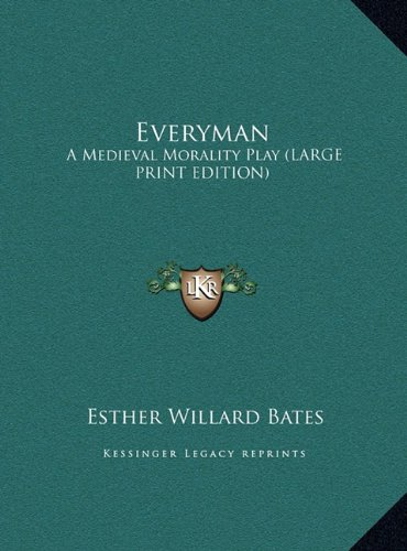 9781169959590: Everyman: A Medieval Morality Play (LARGE PRINT EDITION)