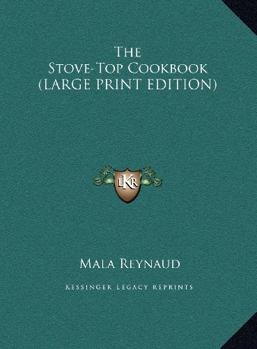 9781169964945: The Stove-Top Cookbook (LARGE PRINT EDITION)