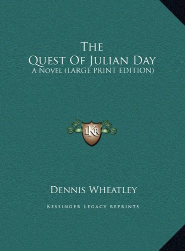 9781169966123: The Quest of Julian Day: A Novel (Large Print Edition)