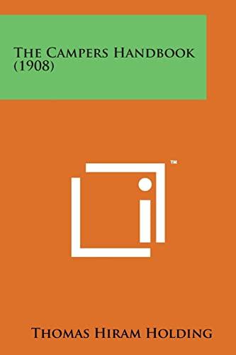 9781169972728: The Campers Handbook (1908)