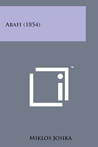9781169973787: Abafi (1854) (Hungarian Edition)
