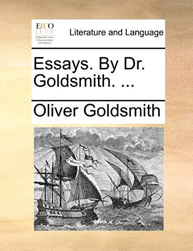 Essays. by Dr. Goldsmith. . (Paperback) - Oliver Goldsmith