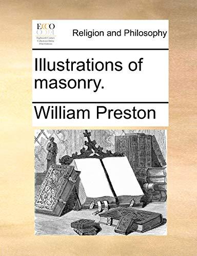 9781171485261: Illustrations of masonry.