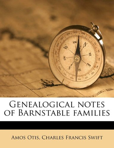 9781171697824: Genealogical notes of Barnstable families