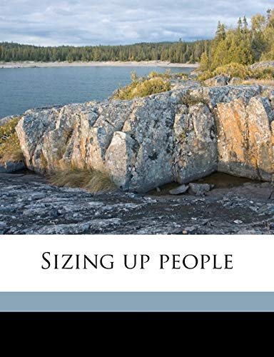 9781171845652: Sizing up people