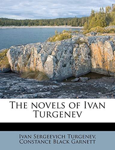 9781171908319: The novels of Ivan Turgenev Volume 2