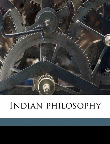 Indian philosophy: Radhakrishnan, S 1888-1975
