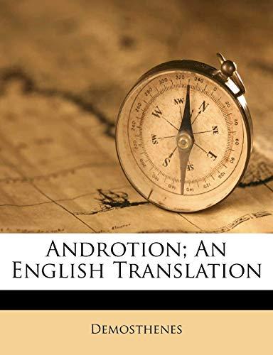 9781173078430: Androtion; an English translation