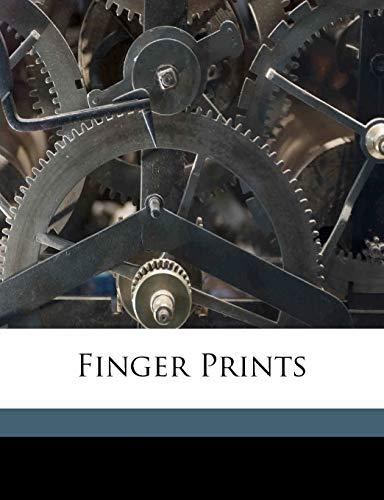 9781173307394: Finger prints