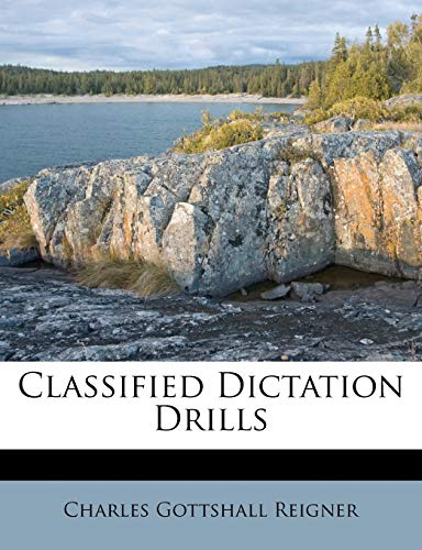 9781173557904: Classified Dictation Drills