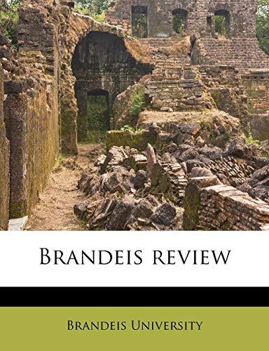 9781174636820: Brandeis review