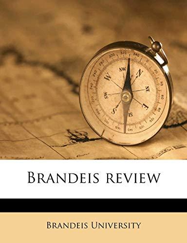 9781174639487: Brandeis review