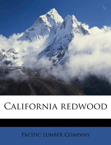 9781174832765: California redwood