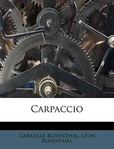 9781174854781: Carpaccio (French Edition)