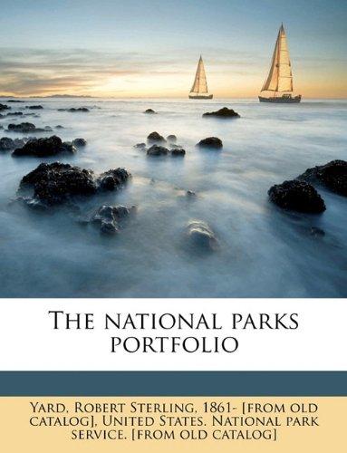 9781175960603: The national parks portfolio