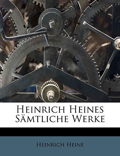 9781176078154: Heinrich Heines Samtliche Werke (German Edition)