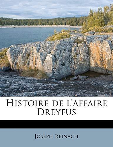 9781176119888: Histoire de L'Affaire Dreyfus