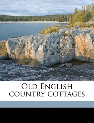 9781176324244: Old English country cottages
