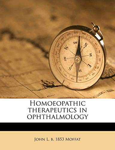 9781176465015: Homoeopathic therapeutics in ophthalmology