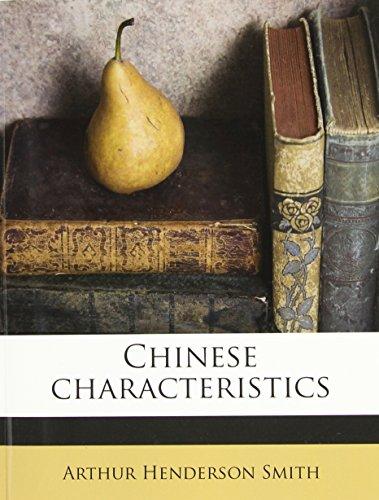 9781176542990: Chinese characteristics